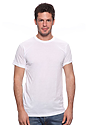 Unisex Union Short Sleeve Tee WHITE Front