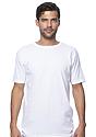 Unisex Short Sleeve Tee WHITE Front