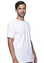 Unisex Short Sleeve Tee WHITE Side