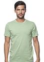 Unisex Organic Short Sleeve Tee AVOCADO Front