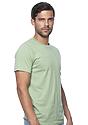 Unisex Organic Short Sleeve Tee AVOCADO Side