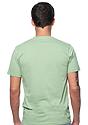 Unisex Organic Short Sleeve Tee AVOCADO Back