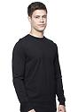 Unisex Long Sleeve Tee BLACK Front