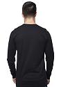 Unisex Long Sleeve Tee BLACK Back