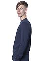 Unisex Long Sleeve Tee NAVY Side