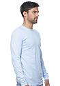 Unisex Organic Long Sleeve Tee HEAVEN Side