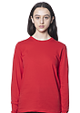 Unisex Long Sleeve Tee RED Front2