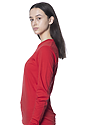 Unisex Long Sleeve Tee RED Back2