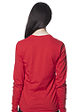 Unisex Long Sleeve Tee RED Back3