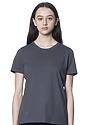Women's Relaxed Fit Short Sleeve Tee ASPHALT 1