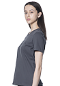 Women's Relaxed Fit Short Sleeve Tee ASPHALT 2