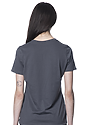 Women's Relaxed Fit Short Sleeve Tee ASPHALT 3