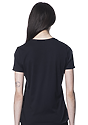 Women's Relaxed Fit Short Sleeve Tee BLACK 3