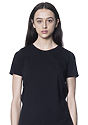 Women's Relaxed Fit Short Sleeve Tee BLACK 1