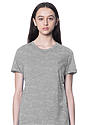 Women's Relaxed Fit Short Sleeve Tee HEATHER GREY 1