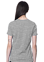 Women's Relaxed Fit Short Sleeve Tee HEATHER GREY 3