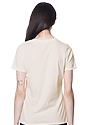 Women's Relaxed Fit Short Sleeve Tee NATURAL 3