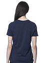 Women's Relaxed Fit Short Sleeve Tee NAVY 3