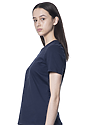 Women's Relaxed Fit Short Sleeve Tee NAVY 2
