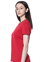 Women's Relaxed Fit Short Sleeve Tee RED 2