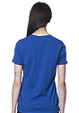 Women's Relaxed Fit Short Sleeve Tee ROYAL 3