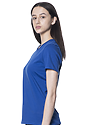 Women's Relaxed Fit Short Sleeve Tee ROYAL 2