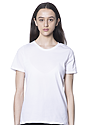 Women's Relaxed Fit Short Sleeve Tee WHITE 1