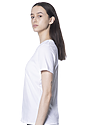 Women's Relaxed Fit Short Sleeve Tee WHITE 2