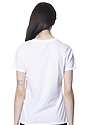 Women's Relaxed Fit Short Sleeve Tee WHITE 3