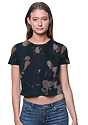 Weekend Abstract Tie Dye Crop COSMOS Front