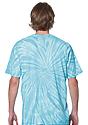 Unisex Organic Spiral Tie Dye Tee  3