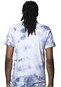 Unisex Cloud Tie Dye Tee INFINITY Back
