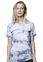 Unisex Cloud Tie Dye Tee INFINITY Front2