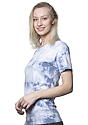 Unisex Cloud Tie Dye Tee INFINITY Side2