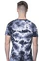 Unisex Cloud Tie Dye Tee PHANTOM Back