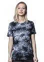Unisex Cloud Tie Dye Tee PHANTOM Front2