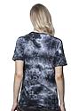 Unisex Cloud Tie Dye Tee PHANTOM Back2