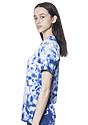 Unisex Cloud Tie Dye Tee SKYDIVER Side2