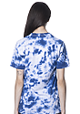 Unisex Cloud Tie Dye Tee SKYDIVER Back2