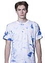 Unisex Cloud Tie Dye Tee SKYDIVER Front