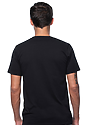 Unisex Recycled Jersey Tee RECYCLE BLACK Back