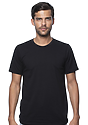 Unisex Recycled Jersey Tee RECYCLE BLACK Front