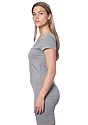 Women's Viscose Bamboo Organic Tee Dress CLOUDBURST Side