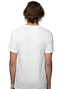 Unisex Viscose Bamboo Organic Cotton Tee FROST Front