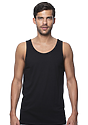 Unisex Viscose Bamboo Organic Cotton Tank Top ECLIPSE Front