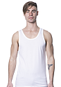 Unisex Viscose Bamboo Organic Cotton Tank Top FROST Front