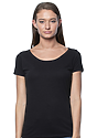 Women's Viscose Bamboo Organic Cotton Scoop Neck ECLIPSE Front