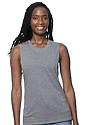 Women's Viscose Bamboo Organic Cotton Muscle CLOUDBURST Front