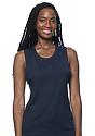 Women's Viscose Bamboo Organic Cotton Muscle MIDNIGHT Front