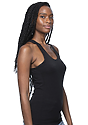 Viscose Bamboo Organic Combed Spandex Racer Tank ECLIPSE Back